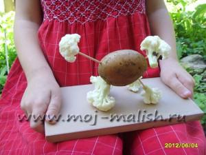 поделки из брокколи своими руками фото