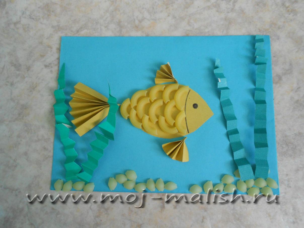Поделки руками рыбки