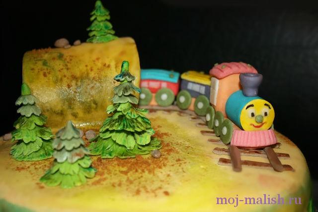 Торт из мастики для детей