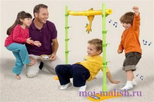 Игры детей с родителями
