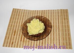 Отвариваем картофельное пюре