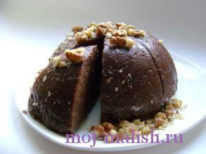 Шоколадный пудинг для детей готов