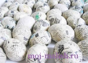 Обклееные яйца