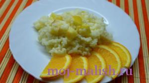 Вкусная рисовая каша для ребенка
