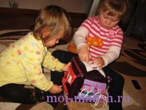 Детский развивающий кубик готов