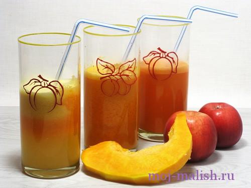Домашний тыквенный сок