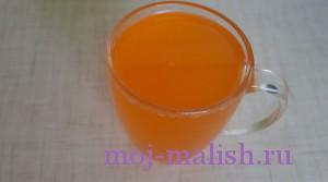 Тоже с апельсиновым соком