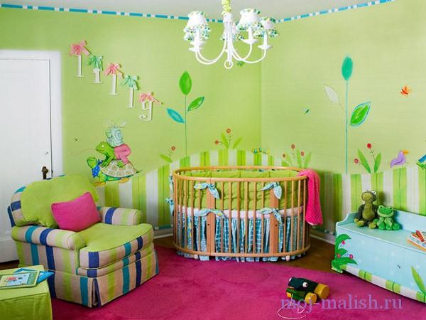 Дизайн интерьера для детской