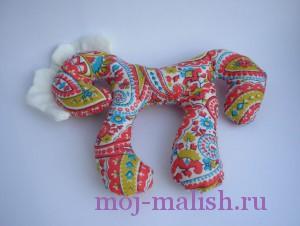 Текстильная лошадка своими руками