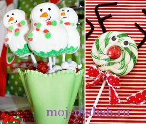 Новогодний десерт для детей