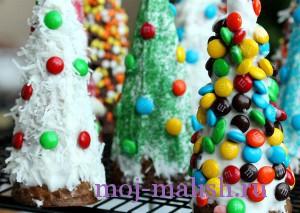 Десерты на Новый год для детей