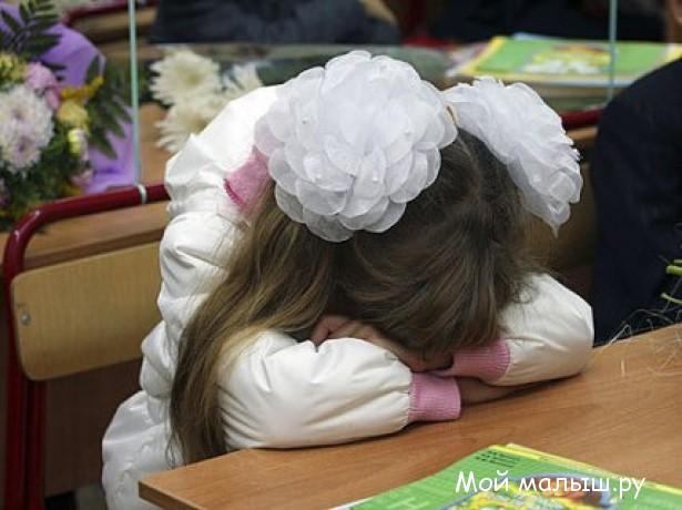 Причины стресса у ребенка
