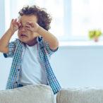 Плачущий из-за капризов ребенок
